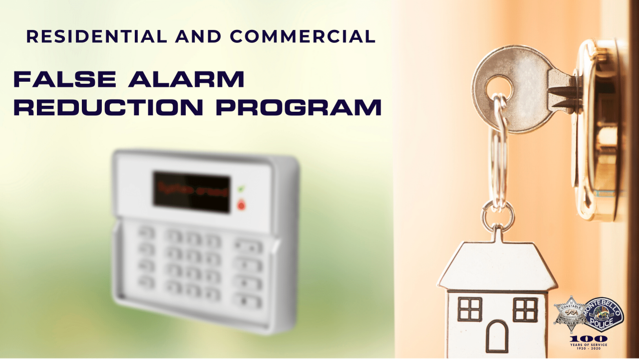 False Alarm Reduction Program