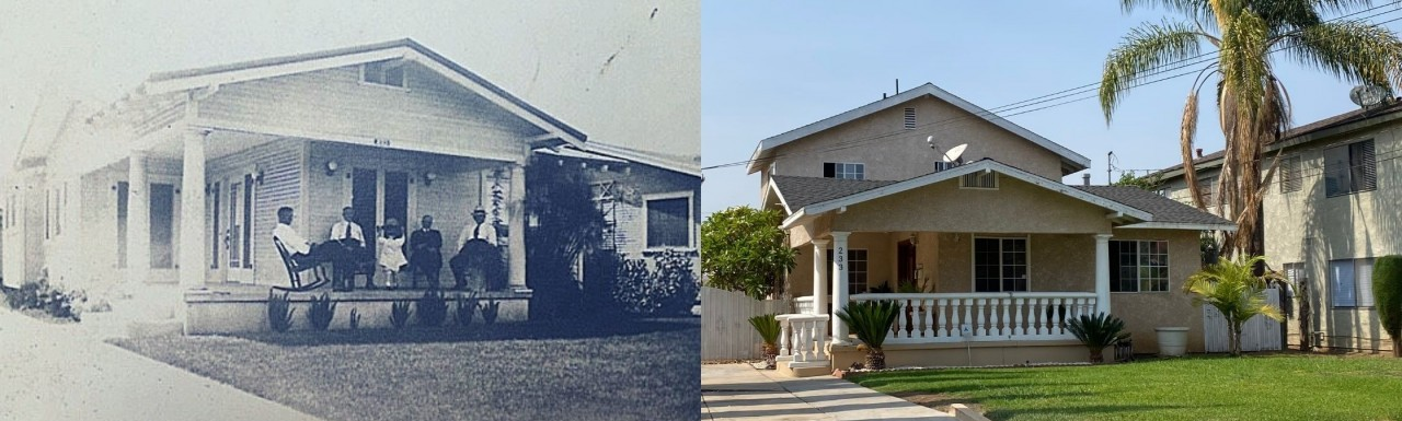 233 S. Spruce from the 1920's to 2021
