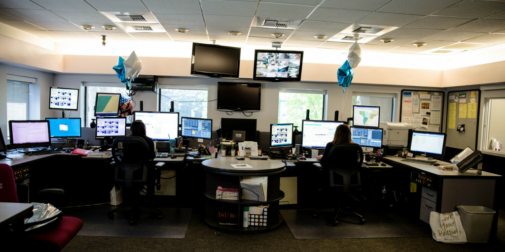 The Montebello Police Department's Communication's Center